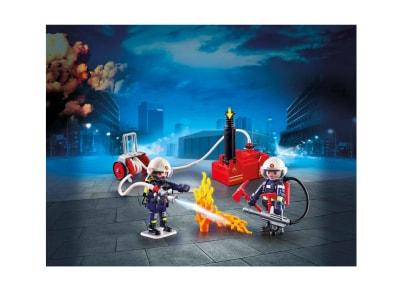 PLAYMOBIL 9468 Πυροσβέστες Με Αντλία Νερού
