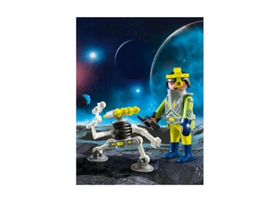 PLAYMOBIL 9416 Διαστημικός Πράκτορας Με Ρομπότ