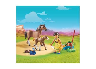 PLAYMOBIL 70122 Η Πρου Με Άλογο Και Πουλάρι