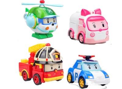 Robocar Poli Μετατρέψιμο Ρομπότ Asst