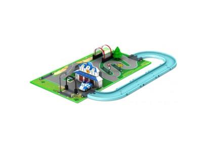 Robocar Poli Brooms Town Map- Αρχηγείο