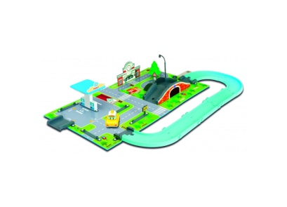 Robocar Poli Brooms Town Map- Ενεργειακός Σταθμός