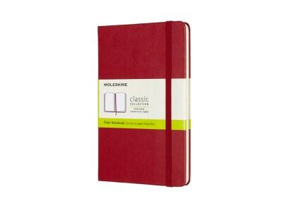 Σημειωματάριο Moleskine Plain Medium Κόκκινο