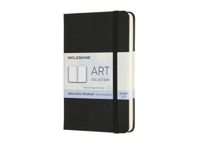 Σημειωματάριο Moleskine Art Watercolor Pocket Μαύρο