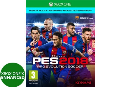 Pro Evolution Soccer 2018 Day 1 Premium Edition - Xbox One Game gaming   παιχνίδια ανά κονσόλα   xbox one