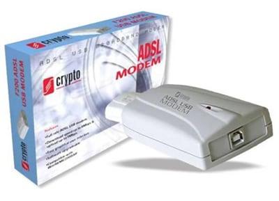 Crypto F200 ADSL USB Modem ISDN (Annex B)