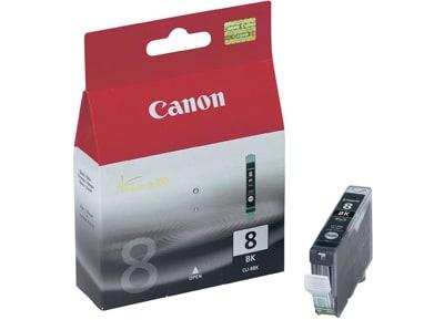 Μελάνι Μαύρο Canon InkJet CLI-8BΚ 0620B001
