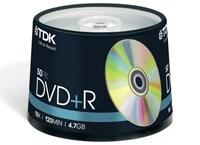 TDK DVD+R 16x 4,7GB - Spindle 50 τεμ - Μέσο αποθήκευσης