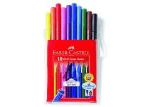 Μαρκαδόροι Faber Castell Grip 155310 Σετ 10 Τεμάχια