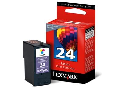 Μελάνι Έγχρωμο Lexmark 24 (18C1524)