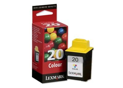 Μελάνι Έγχρωμο Lexmark 20  15MX120E