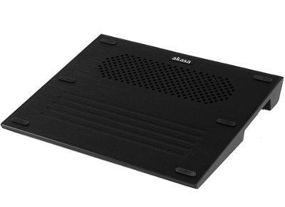 """Βάση Laptop Cooler 15.4"""" Akasa Libra Μαύρο"""