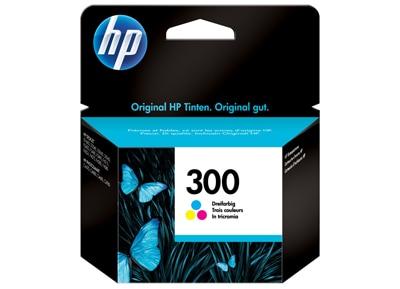 Μελάνι Έγχρωμο HP 300 CC643EE