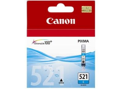 Μελάνι Κυανό Canon CLI 521C 2934B001