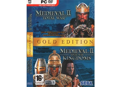 Medieval II: Total War Gold Edition - Complete Package - PC Game