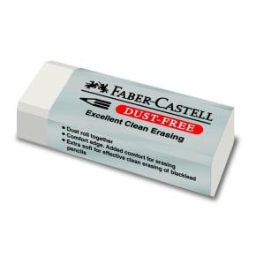Γόμα Faber Castell - Λευκό - Dust Free Vinyl