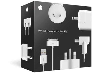 Φορτιστής ταξιδίου Apple World Travel Adapter Kit
