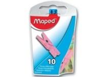 Μανταλάκια Maped 344011 10 Διαφορετικά Χρώματα