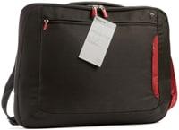 """Τσάντα Laptop 15.4"""" Belkin Messenger Μαύρο/Κόκκινο"""