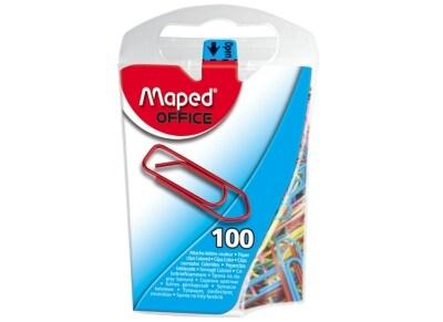 Συνδετήρες Maped 321011 Χρωματιστοί 25mm 100 Τεμάχια