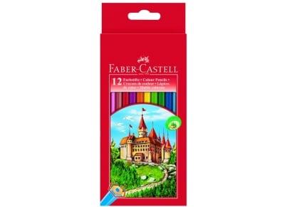 Ξυλομπογιές Faber Castell 111212 12 Τεμάχια