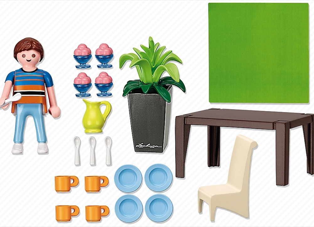 Playmobil 5335 public for Playmobil dining room 5335