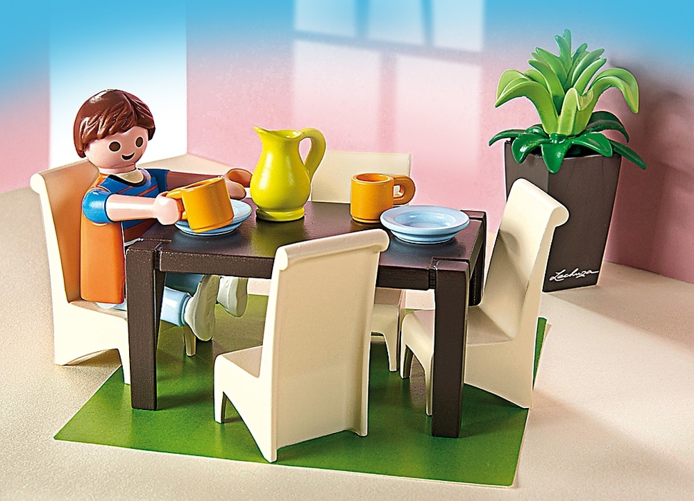 Playmobil 5335 public for Playmobil esszimmer 5335