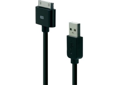 Καλώδιο 30-pin to USB 1.2m - Belkin F8Z328EA04-BLK Μαύρο