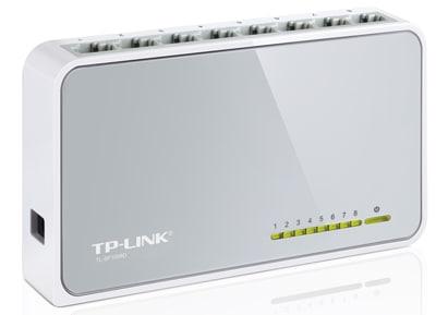 Διανομέας Δικτύου TP-Link TL-SF1008D - 8 Port Network Switch