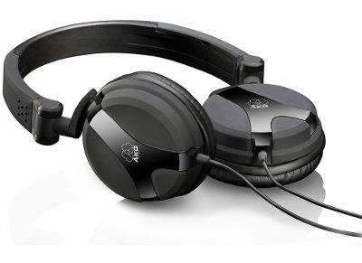 Ακουστικά Κεφαλής AKG K 518 DJ Μαύρο