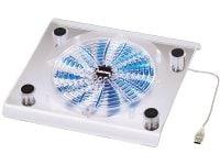 """Βάση Laptop Cooler 17.3"""" Hama Maxi 39689 Διάφανο"""