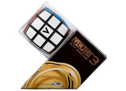 V-Cube 3 Black Pillow