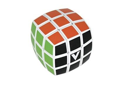 V-Cube 3 White Pillow