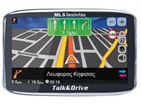 GPS MLS Destinator Talk&Drive 50TSP - Χάρτες Ελλάδας & Ευρώπης