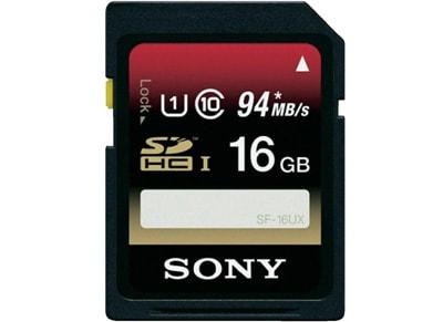 Κάρτα μνήμης SDHC 16GB UHS 1 - Sony SF16UX
