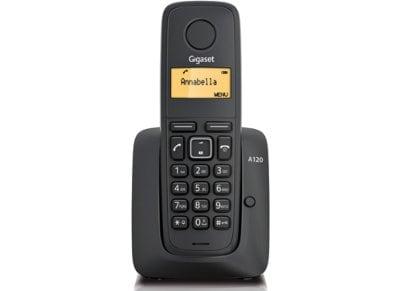 Gigaset A120 Ασύρματο Τηλέφωνο Μαύρο