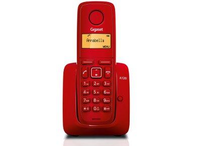 Gigaset A120 Ασύρματο Τηλέφωνο Κόκκινο