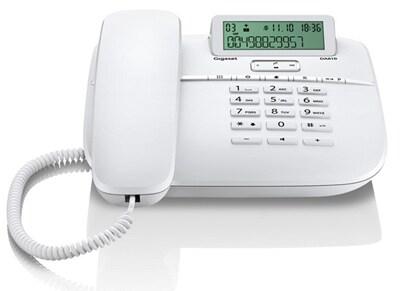 Gigaset DA610 Ενσύρματο Τηλέφωνο Λευκό