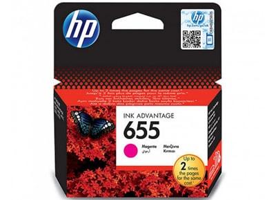 Μελάνι Ματζέντα HP InkJet 655 CZ111AE