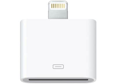 Adapter Lightning to 30-pin - Apple MD823ZM/A Λευκό