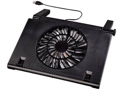 """Βάση Laptop Cooler 17.3"""" Hama 54116 Μαύρο"""
