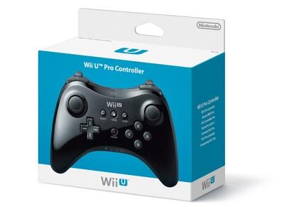 Pro Controller - Nintendo Wii U - Μαύρο gaming   αξεσουάρ κονσολών   wii u   χειριστήρια