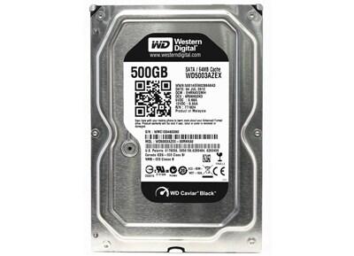 """Εσωτερικός δίσκος Western Digital WD500 500GB - 3.5"""" - SATA 3 (WD5003AZEX)"""