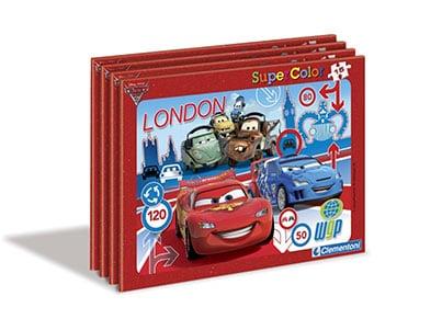 Puzzle Clementoni Super Color Disney: Cars - 15 κομμάτια (1200-22216)