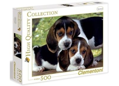 Παζλ Σκυλάκια Clementoni High Quality - 500 Κομμάτια