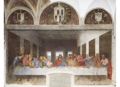 Puzzle Clementoni Museum Collection Λεονάρντο Ντα Βίντσι: Μυστικός Δείπνος 1000 κομμάτια