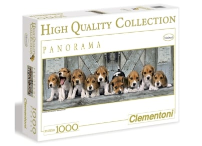 Puzzle Clementoni High Quality Collection Κουταβάκια 1000 κομμάτια