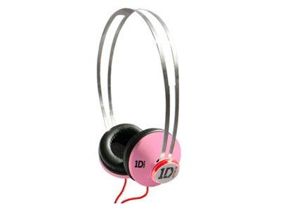 Ακουστικά Κεφαλής One Direction JI-1433 Ροζ