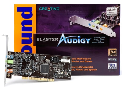 Creative Sound Blaster Audigy SE PCI - Κάρτα ήχου