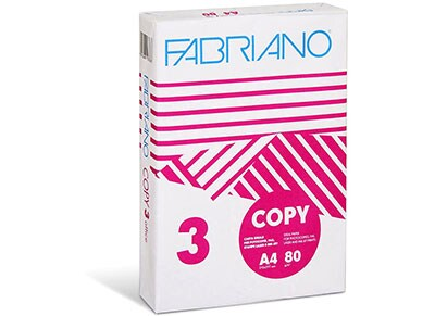 Fabriano COPY 3 - Χαρτί εκτύπωσης A4 - 500 φύλλα